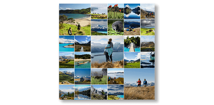 Travel Montage Canvas