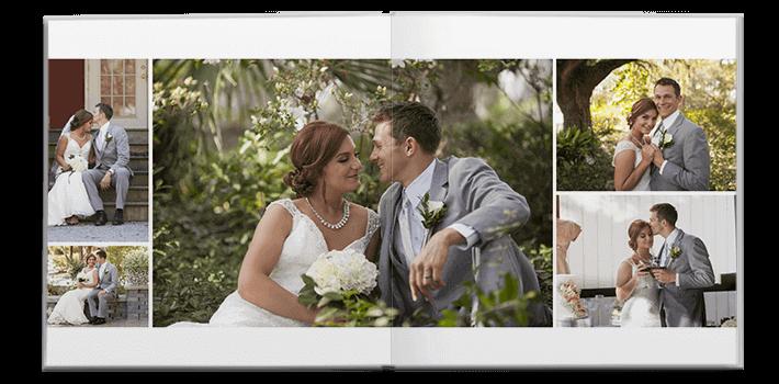 Modern Wedding Photo Album Design