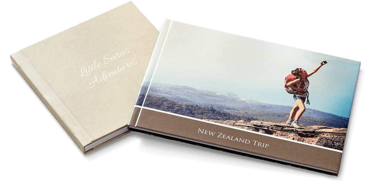 Leatherette or printed cover photo books