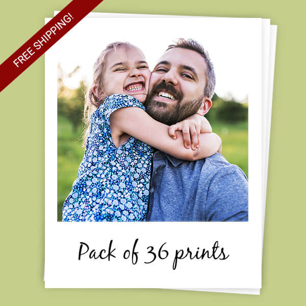 Sticky Polaroids pack of 36