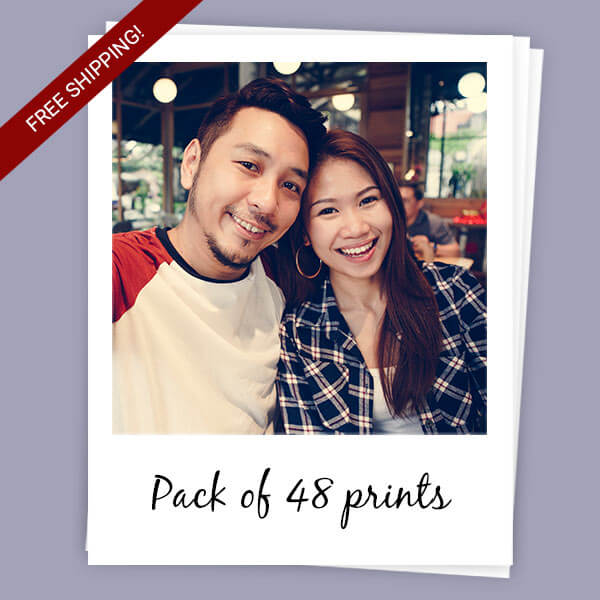 Sticky Polaroids pack of 48