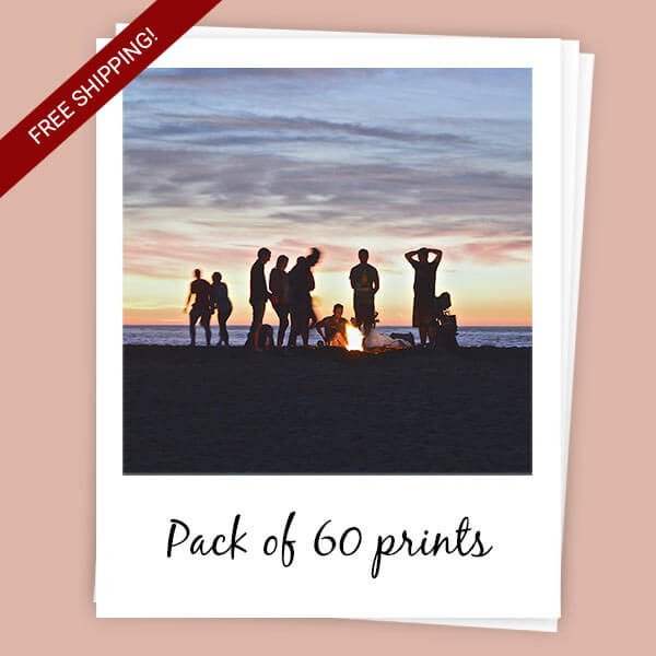 Sticky Polaroids pack of 60