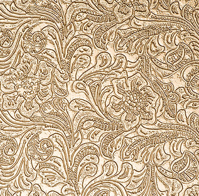 Golden Floral Luxury PU Texture